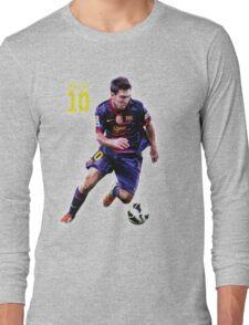 Lionel Messi Barcelona Long Sleeve T-Shirt