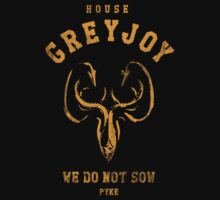 Game of Thrones House Greyjoy by nofixedaddress