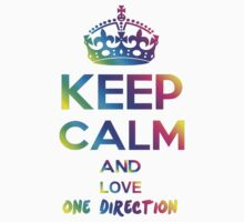 Keep Calm and Love 1D by daleos