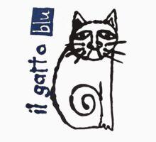 il gatto blu by Paul Summers