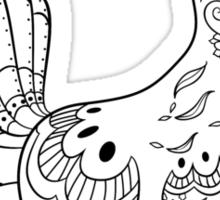 Vulpix de los Muertos | Pokemon & Day of The Dead Mashup Sticker