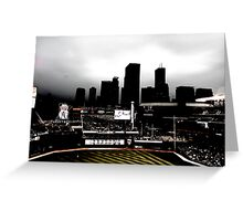 Stadium - Back Light Greeting Card