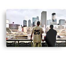 Stadium - Background Metal Print