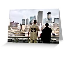 Stadium - Background Greeting Card