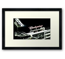 Stadium - Advertising Framed Print