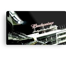 Stadium - Advertising Metal Print