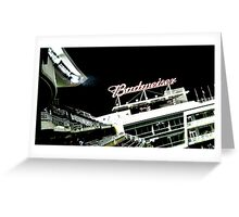 Stadium - Advertising Greeting Card