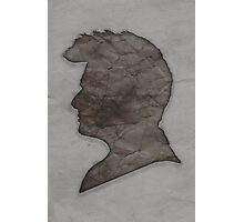 Tenth Doctor Silhouette Photographic Print