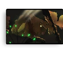 Mysterious Cave - Painting Canvas Print