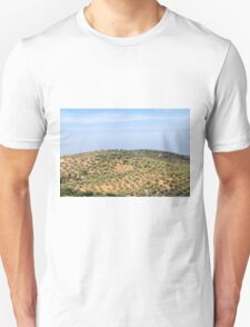 hill with olives trees T-Shirt