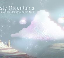 Misty Mountains - Postcards by btns