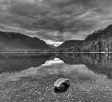 Lake MacDonald in grey by JamesA1