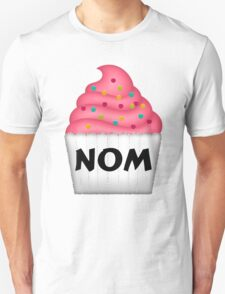 Nom Yummy Cupcake With Sprinkles T-Shirt