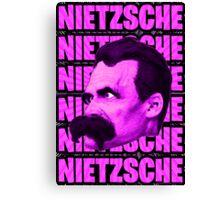 Nietzsche -  Face / Nietzsche Canvas Print