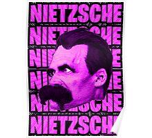 Nietzsche -  Face / Nietzsche Poster
