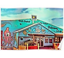Fisherman's Co-Op, Coffs Harbour Poster
