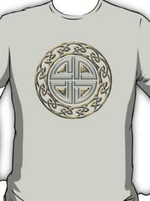 Celtic Shield Knot, Protection, Four Corner, Norse T-Shirt