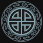 Celtic Shield Knot, Protection, Four Corner, Norse, Viking by nitty-gritty