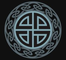 Celtic Shield Knot, Protection, Four Corner, Norse, Viking T-Shirt