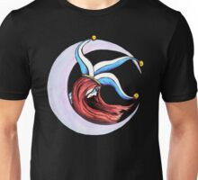 Jester Crescent Moon  Unisex T-Shirt