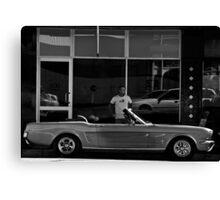 Mustang Canvas Print