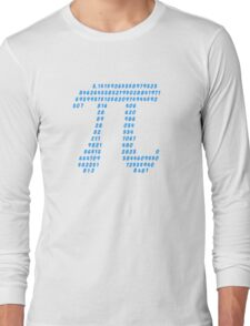 Pi π Science Mathematics Math Irrational Number Sequence Long Sleeve T-Shirt