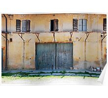 Derelict Friulian Agricultural Building Poster