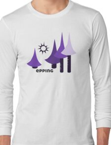 Wyld Epping Forest t-shirt (in bluebell) Long Sleeve T-Shirt