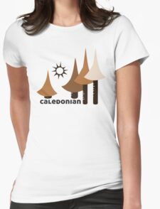Wyld Caledonian Forest (in bark) Womens Fitted T-Shirt