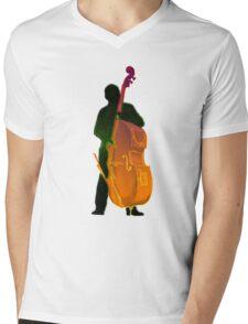 Jazz Bassman Mens V-Neck T-Shirt