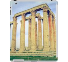 ruins of ancient temple of Zeus, Athens, Greece iPad Case/Skin