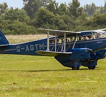 """DH.89a Dragon Rapide 6 G-AGTM """"Sybille"""" by Colin Smedley"""
