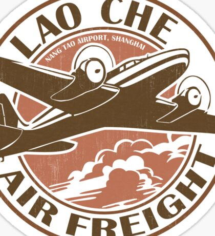 Lao Che Air Freight Sticker