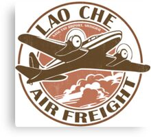 Lao Che Air Freight Canvas Print