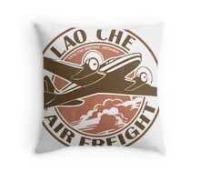 Lao Che Air Freight Throw Pillow
