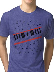 Beat It Piano Tri-blend T-Shirt