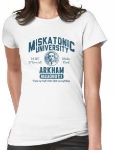 Miskatonic University Arkham Womens Fitted T-Shirt