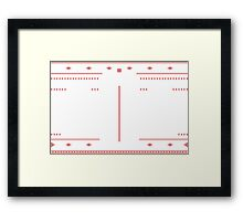 Knitted Style Doctors Framed Print