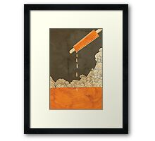 Orange Dreamscicle Framed Print