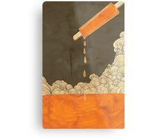 Orange Dreamscicle Metal Print