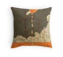 Orange Dreamscicle Throw Pillow