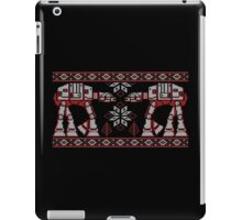 Knitted Style Snow Walkers iPad Case/Skin