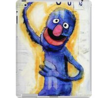 I am grover iPad Case/Skin