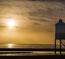 The Wooden Lighthouse at Sunset by Mark Hooper