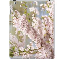 soft spring cherry tree iPad Case/Skin