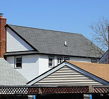 Roofs and Chimneys by henuly1