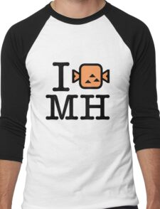 I (STEAK) MH Men's Baseball ¾ T-Shirt