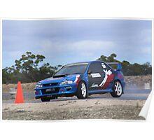 2014 Oz Gymkhana Round 1 - #28 Subaru WRX Poster