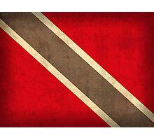 Trinidad and Tobago Flag Photographic Print