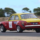 2014 Oz Gymkhana Round 1 - #02 Ford Escort by Stuart Daddow Photography